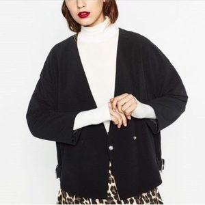 Zara V-neck Short Jacket